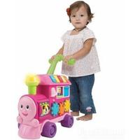 WinFun Walker Ride-On Learning Train - Pink