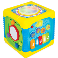 WinFun Music Fun Activity Cube - Music Gifts