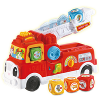 LeapFrog Tumbling Blocks Fire Engine - Leapfrog Gifts
