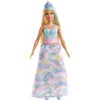 Barbie Dreamtopia Princess 30cm Doll - Rainbow - Barbie Gifts