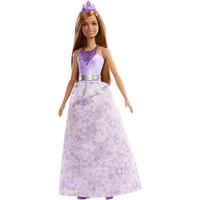 Barbie Dreamtopia Princess 30cm Doll - Purple Gem - Barbie Gifts