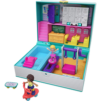 Polly Pocket Mini Middle School Compact Playset with Doll - Polly Pocket Gifts
