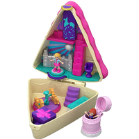 Polly Pocket Birthday Cake Compact Playset with Dolls - Polly Pocket Gifts