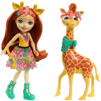 Enchantimals Gillian Giraffe Doll and Figure - Giraffe Gifts