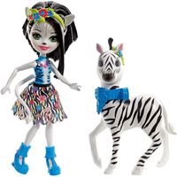Enchantimals Zelena Zebra Doll and Figure - Zebra Gifts