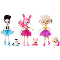 Enchantimals Ballet Cuties 3Pack Dolls - Ballet Gifts