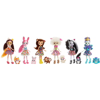 Enchantimals Friendship Collection Dolls (6-Pack) - Dolls Gifts