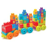 Mega Bloks First Builders Alphabet Train - 60 Pieces