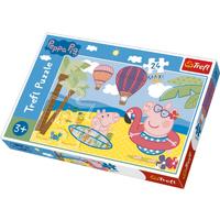 Trefl - Peppa Pig Peppa's Holidays Maxi 24pc Puzzle - Peppa Pig Gifts