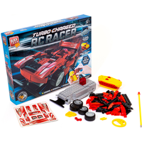 Block Tech Turbo Charged RC Racer Car - Red - Rc Gifts