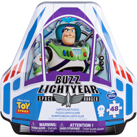 Disney Pixar Toy Story 4 Buzz Lightyear Space Ranger Puzzle Tin - Buzz Lightyear Gifts