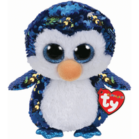 Ty Flippables 23cm Soft Toy - Payton Penguin - Penguin Gifts