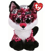 Ty Flippables 23cm Soft Toy - Jewel Fox - Jewel Gifts
