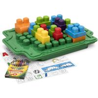 Crayola Building Blocks 2in1 Activity Tray - Crayola Gifts