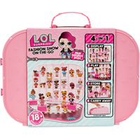 L.O.L. Surprise! Fashion Show On-the-Go Storage and Playset - Light Pink - Lol Surprise Gifts