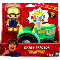Ryan's World Pull Back Action Figure and Vehicle - Ryan's Tractor - Tractor Gifts