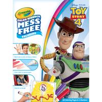 Disney Toy Story 4 Crayola Color Wonder Mess Free Book - Crayola Gifts