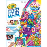 Uni-Creatures! Crayola Color Wonder Mess Free Book
