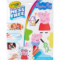 Pegga Pig Crayola Color Wonder Mess Free Book - Crayola Gifts
