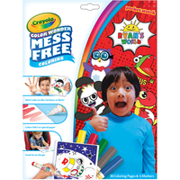 Ryan's World Color Wonder Mess Free Book