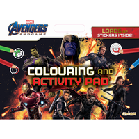 Avengers Endgame Giant Colouring & Activity Pad - Activity Gifts