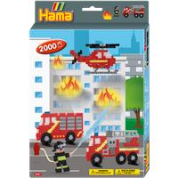 Hama Beads Firefighter Hang Box