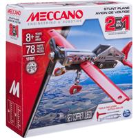 Meccano 2 in 1 Stunt Plane Model Maker Set  - 17201