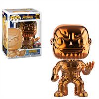 Funko Pop! Marvel: Avengers Infinity War - Chrome Thanos - Chrome Gifts