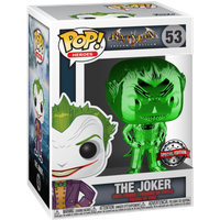 Funko Pop! Heroes: Batman Arkham Asylum - The Joker (Green Chrome)
