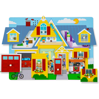 Melissa and Doug Around the House Sound Puzzle - Puzzle Gifts