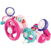 Early Learning Centre Lights and Sounds Buggy Driver - Pink - Early Learning Centre Gifts