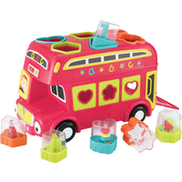 Early Learning Centre Shape Sorting Bus - Red