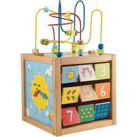 Early Learning Centre Giant Wooden Activity Cube - Blue