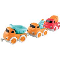 Whizz World Construction Vehicle Magnetic Trio Set