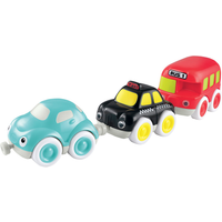 Whizz World City Vehicle Magnetic Trio Set