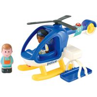 'Happyland Lights And Sounds Police Helicopter