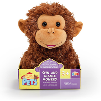 Pitter Patter Pets Spin and Giggle Monkey - Pets Gifts