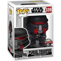 Funko Pop! Star Wars: The Last Jedi Fallen Order - Purge Trooper Bobble-Head
