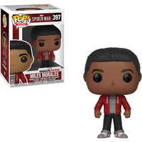 Funko Pop! Marvel: Spider-Man Gameverse - Miles Morales Bobble-Head - Bobblehead Gifts