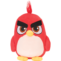 Angry Birds 23cm Plush Soft Toy - Red - Angry Birds Gifts