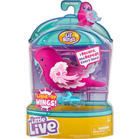 Little Live Pets Lil' Birds Interactive Song Bird - Bow Beam - Pets Gifts