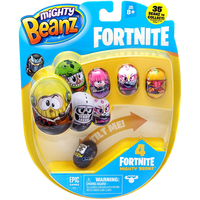 Mighty Beanz Fortnite 4 Pack - Series 2