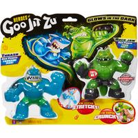 Heroes of Goo Jit Zu Versus Glow In The Dark - Thrash vs Rock Jaw - Rock Gifts