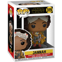 Funko Pop! Movies: Star Wars The Rise of Skywalker - Jannah Bobble-Head