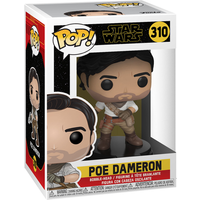 Funko Pop! Movies: Star Wars The Rise of Skywalker - Poe Dameron Bobble-Head - The Entertainer Gifts