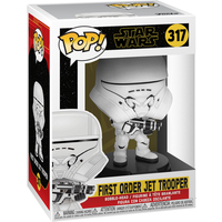 Funko Pop! Movies: Star Wars The Rise of Skywalker - First Order Jet Trooper Bobble-Head - Bobblehead Gifts