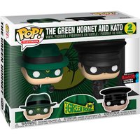 Funko Pop! Television: The Green Hornet - The Green Hornet and Kato (UK Exclusive)