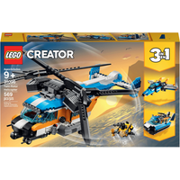 LEGO Creator 3in1 Twin Rotor Helicopter - 31096 - Helicopter Gifts