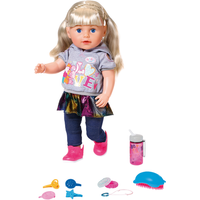 BABY Born Soft Touch Sister Blonde 43cm Doll - Baby Born Gifts