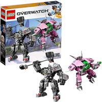 LEGO Overwatch D VA and Reinhardt -75973 - The Entertainer Gifts
